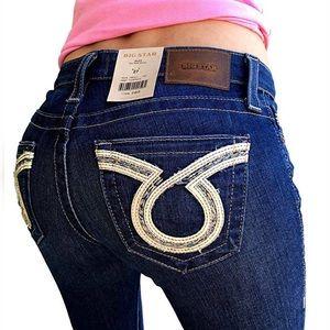 Big Star Alex Mid Rise Skinny Stretch Jeans FIRM!
